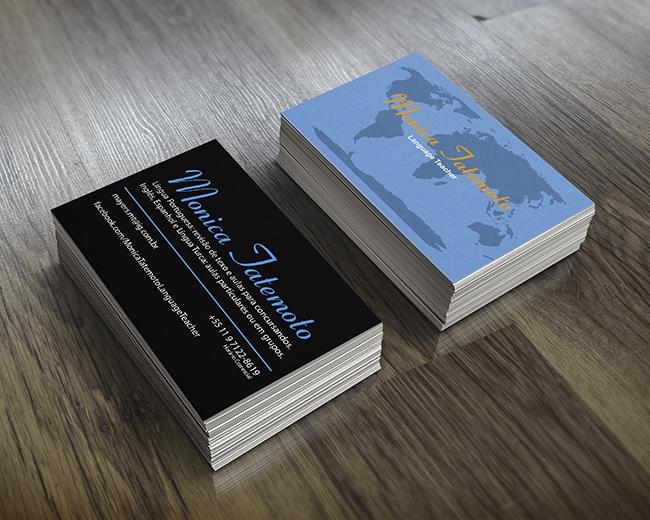 Cartão de Visita Monica Tatemoto