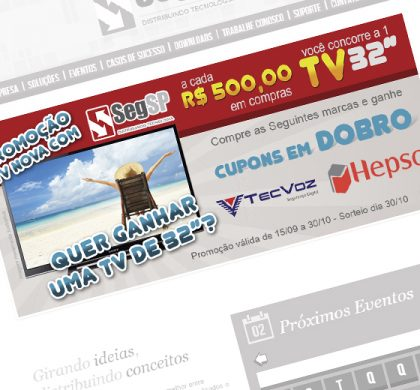 Banner SegSP Promoção TV 32