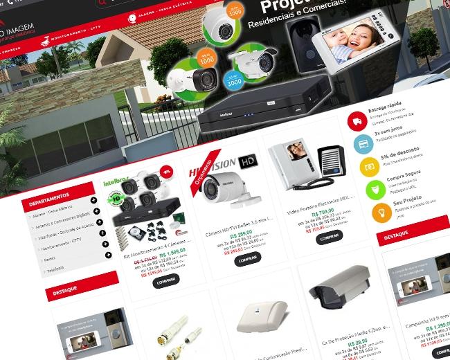 Loja Virtual Pro Imagem CFTV Destaque