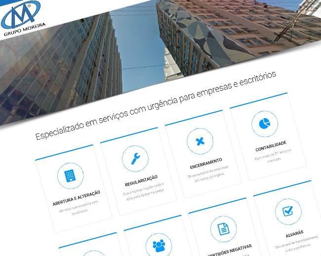 Site Grupo Moreira Servs Destaque