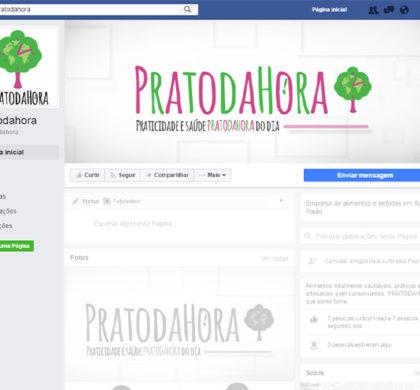 Capa para Facebook PRATODAHORA