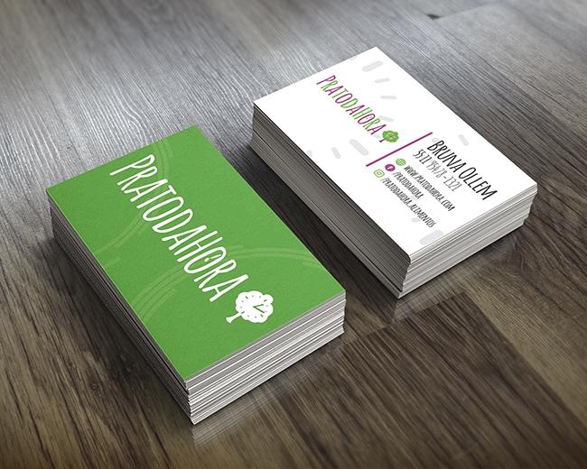 Cartão de Visita PRATODAHORA