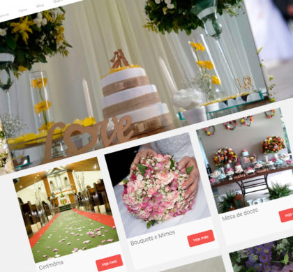 Site Dream Decor Eventos Destacada