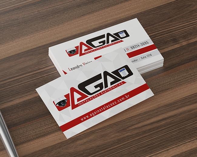 Cartão de Visita AGA Instalações