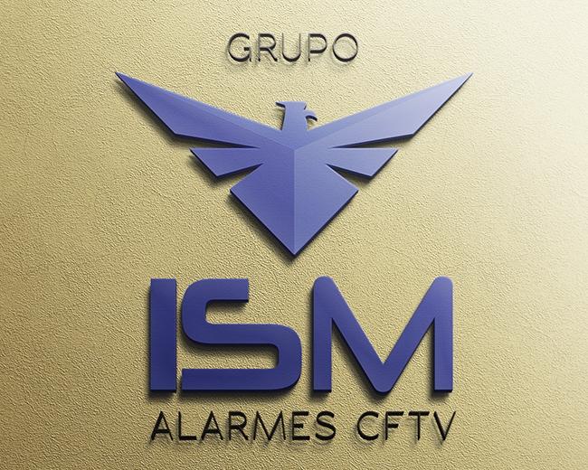 Logotipo ISM Alarmes CFTV