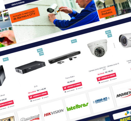 Loja Virtual ISM Alarmes CFTV Destaque