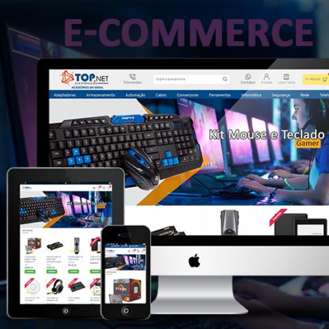 E-commerce de produtos de Informática da Top Net eletrônicos