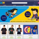 Loja Virtual CZ10 Topo Página Inicial