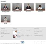 Site Hong Advogados Rodapé