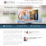 Site Hong Advogados Topo